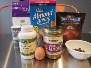 Ingredients - Flourless Chocolate Almond Butter Cookies