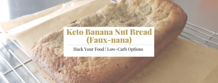 Keto Banana Nut Bread Faux-nana