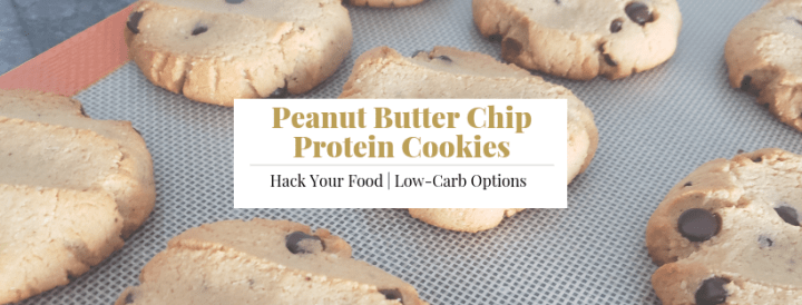 Peanut Butter Chip Protein Cookies