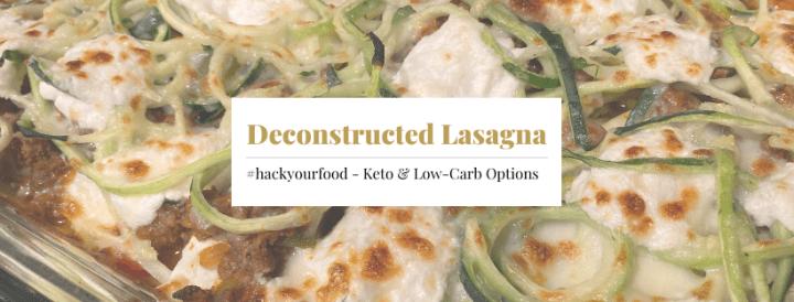 Deconstructed Keto Lasagna Casserole