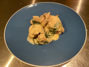 Final Plated - Creamy Tuscan Chicken