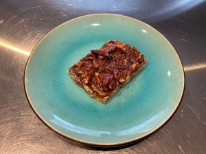 Final Plated - Pecan Pie Bars