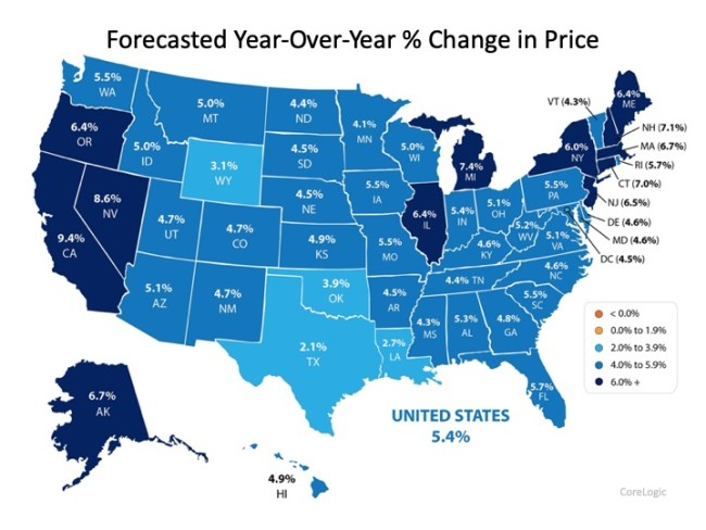 2020 Forecast Shows Continued Home Price Appreciation   Simplifying The Market