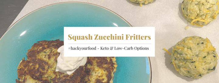Keto Squash Zucchini Fritters