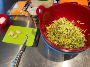 Keto Squash Zucchini Fritters 1