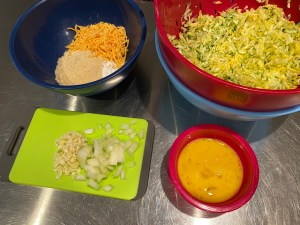 Keto Squash Zucchini Fritters 2