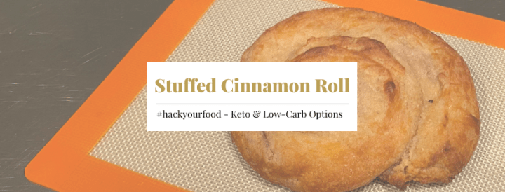 Keto Stuffed Cinnamon Roll