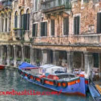 The Canals of Venice, Italy, Easter 2014