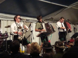 Wurstfest 2010- Opening Night