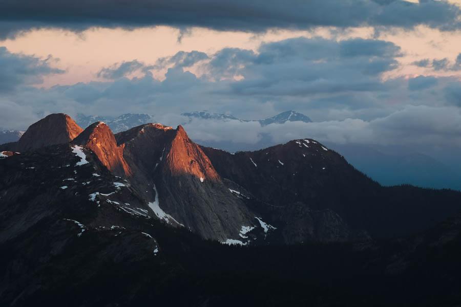 British Columbia Alpine Sunrise