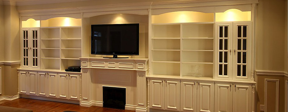 Custom Libraries Bars Office Furniture Wall Units desks