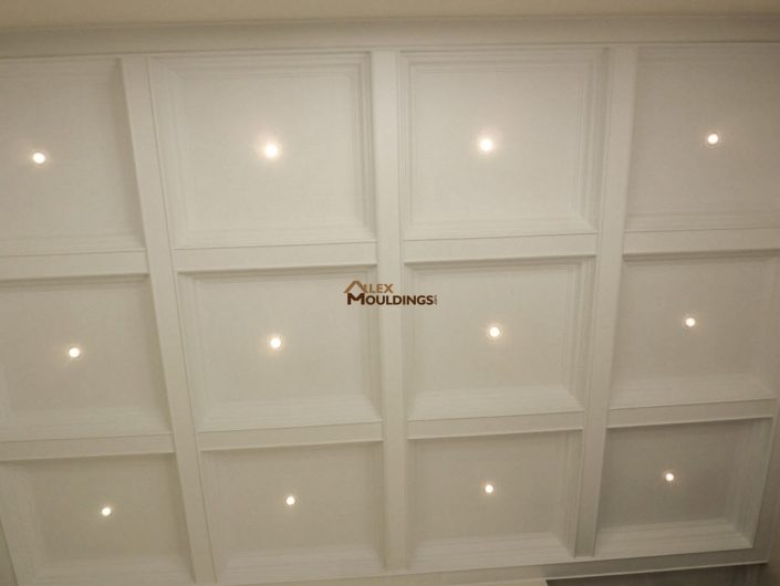 Coffeed  Waffle Ceiling pictures  AlexMouldingcom