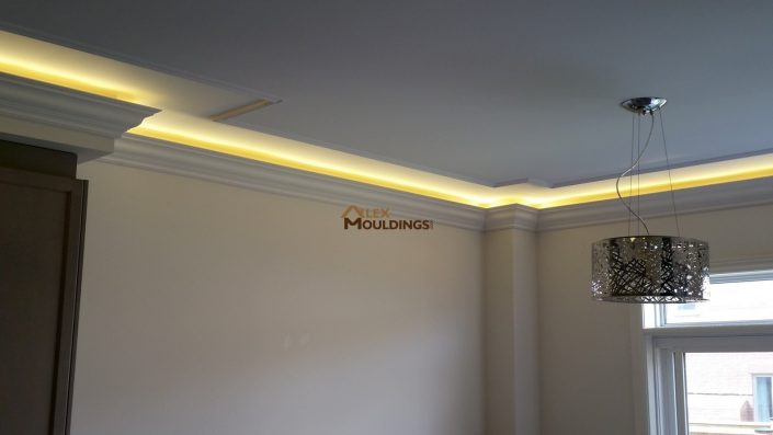 LED Cove Lighting With Crown Mouldings Photos