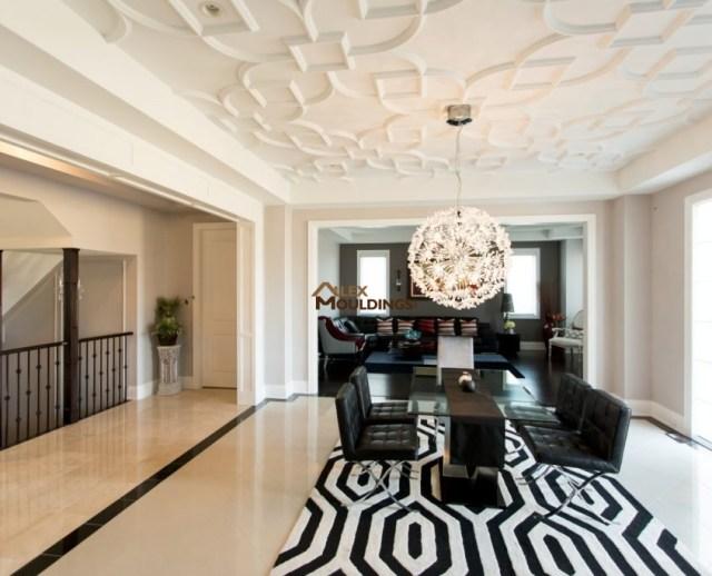 Ceiling decor pattern idea