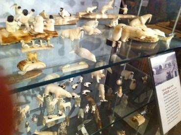 Tusk carvings