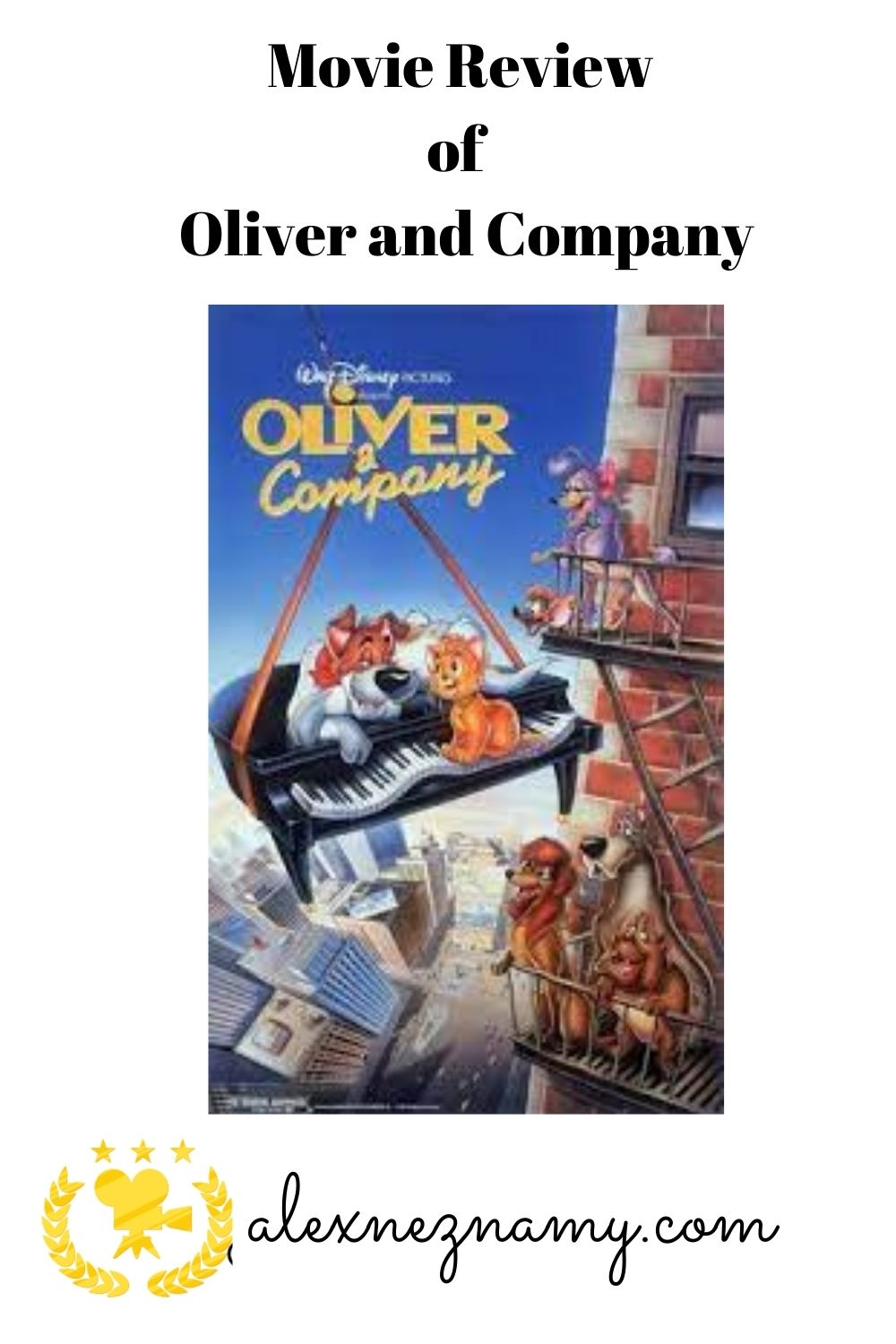 Movie Review of Oliver and Company