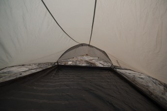 Rocky tent site