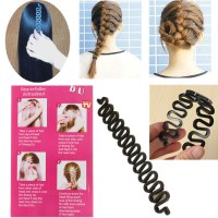 Black French Hair Braiding Tool Roller Magic Hair Twist ...