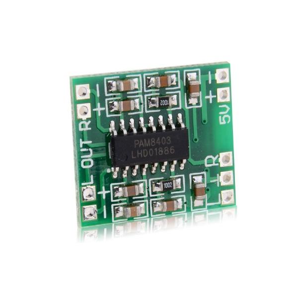 5pcs PAM8403 Miniature Digital USB Power Amplifier Board 2