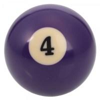 Number 4 Billiard Ball | Alexnld.com