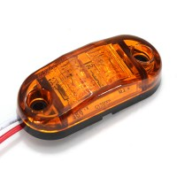 Led Side Marker Light Car Trailers RV Clearance Lamp E ...
