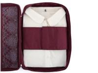 travel tie organizer travel shirt tie sorting pouch zipper ...