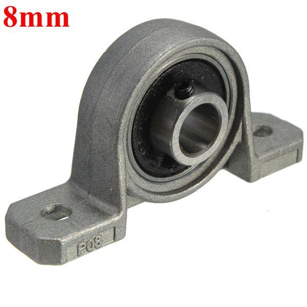 NEW HCAK208-40MM  High Quality 40mm Eccentric Locking Pillow Block Bearing