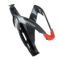 Carbon Fiber Bicycle Bottle Cage Plastic Texture Water