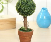 plastic topiary