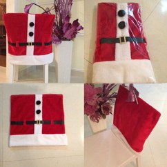 Chair Cover Christmas Decorations Mickey Mouse Desk Santa Claus Dinner Decoration Alex Nld
