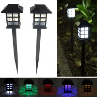 2pcs Garden Solar Oriental LED Lamp Outdoor Yard Lawn ...