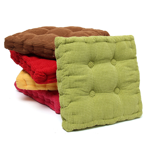 Soft Chunky Square Fiber Seat Cushion Thickened Home Sofa