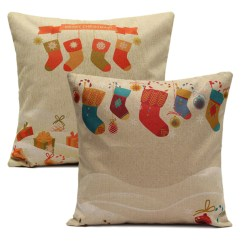 Sofa Box Cushion Covers Rowe Sleeper Reviews Christmas Socks Throw Pillow Cases Home Square Cover