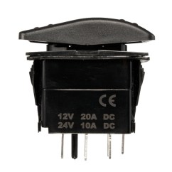 Wiring Diagram For 12v Led Switch Gibson Guitar 7-pin 20a Winch In/out On-off-on Arb Rocker Car Boat 4 Colors | Alexnld.com