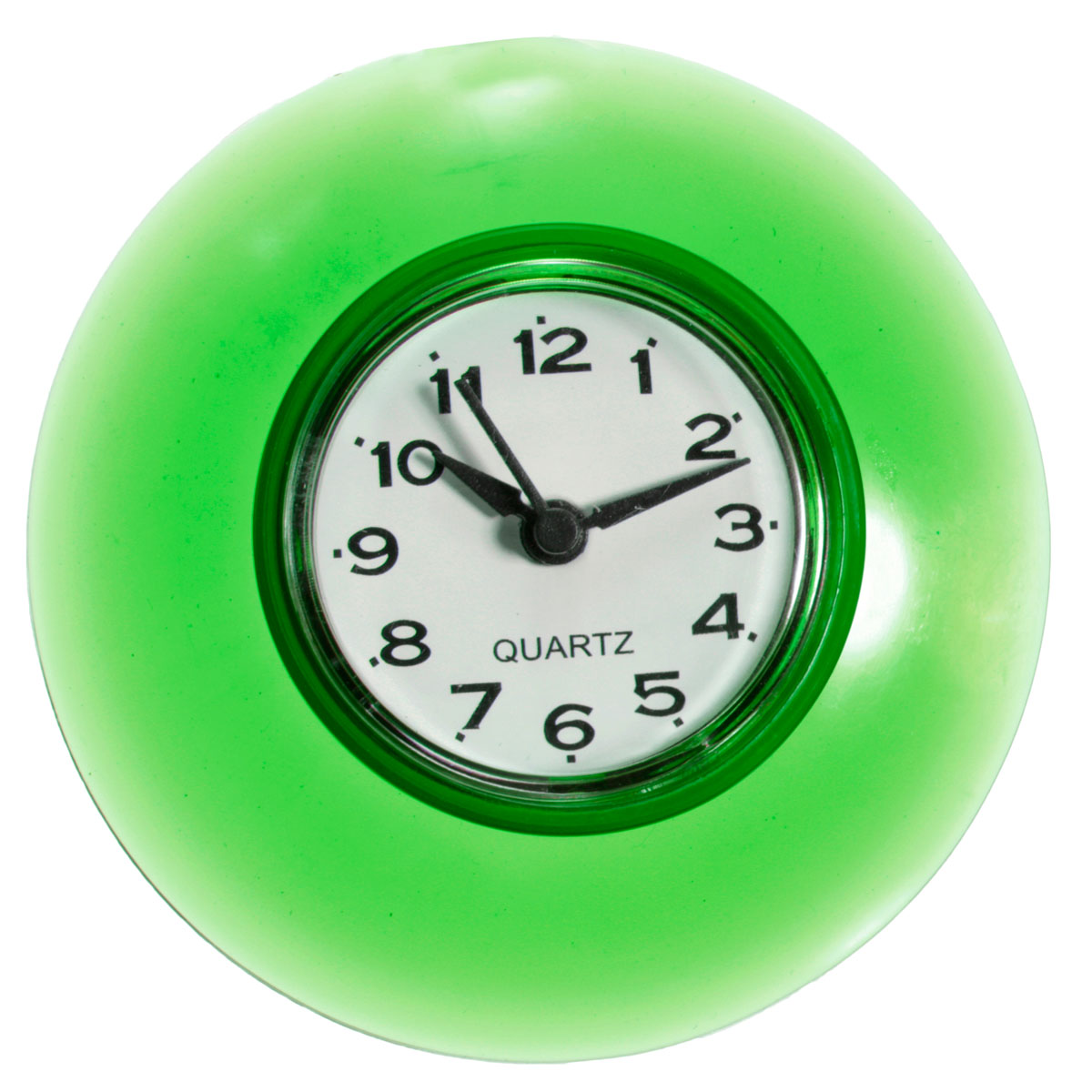 Bathroom Waterproof Wall Clock Resistant Timer Suction Cup