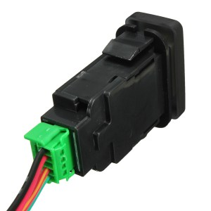 OEM Replacement LED Light Push Switch For Toyota