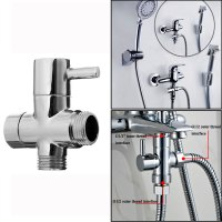 G1/2 Bathroom Angle Valve For Shower Head Water Separator