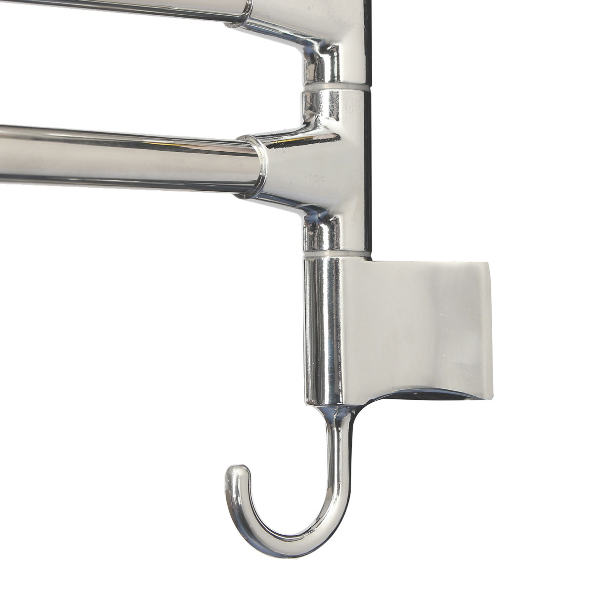 kitchen towel racks chairs target bathroom wall mounted rotating rack storage