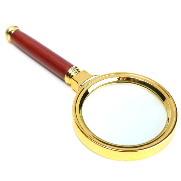 70mm 10x Handheld Magnifier Magnifying Glass Loupe Lens Easy Reading Jewelry Alex Nld