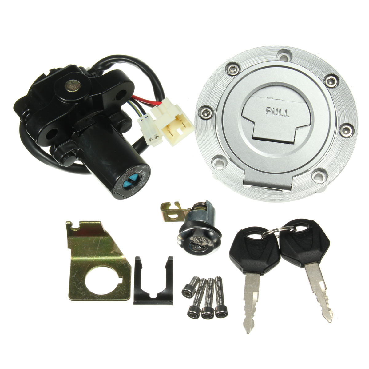 hight resolution of ignition switch seat lock fuel gas cap key set for yamaha yzf r1 r6 furthermore yamaha r6 keyless gas cap on yamaha r6 gas cap diagram