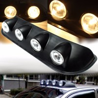 H3 12V 55W Amber Roof Top Combined Lights Fog Lamp for ...