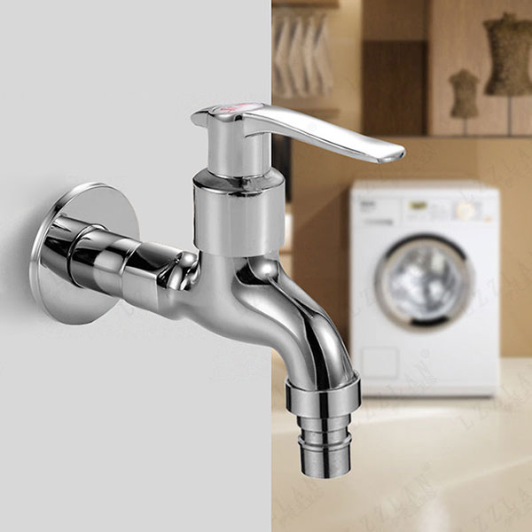 Washing Machine Faucet Mop Pool Sink Tap Wallmounted Single Handle Cold Water Faucet  Alexnldcom