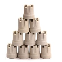 10x E27 Porcelain Ceramic Lampholder Socket For Vivarium ...