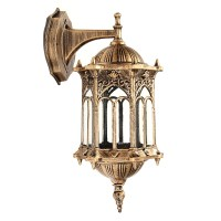 Outdoor Bronze Antique Exterior Wall Light Fixture ...