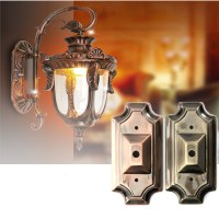 Retro Vintage Rectangle Style Sconce Wall Lamp Light Base ...