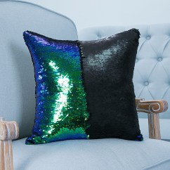 Good Sofa Bed Singapore Black Rattan Corner Garden Furniture Reversible Sequin Mermaid Pillowcase Magical Color ...