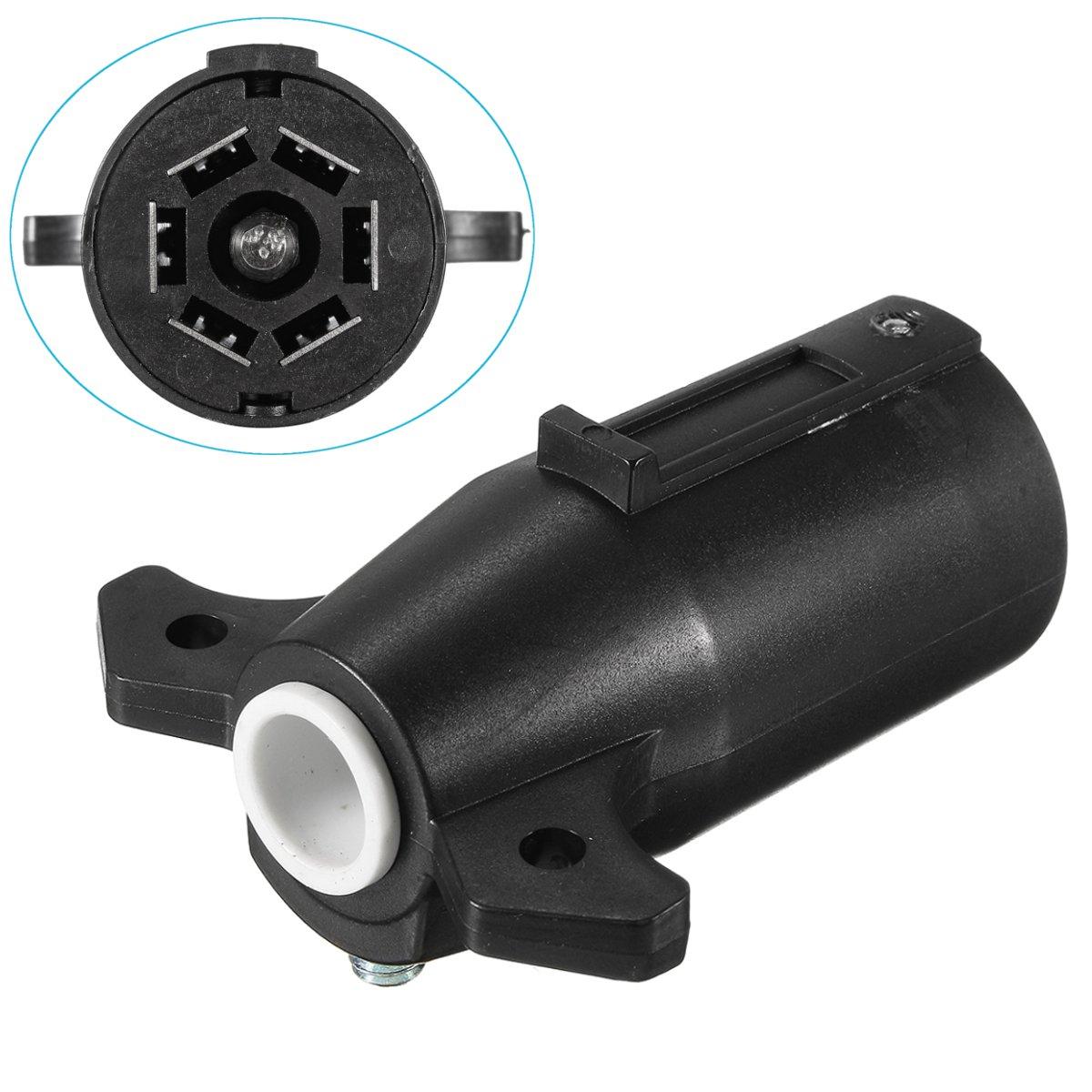 Round Trailer Plug Adapter On 4 Pin Round Trailer Wiring Connector