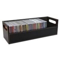 CD DVD Disk Storage Box Case Rack Holder Stacking Tray