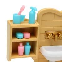 DIY Miniatures Bedroom Bathroom Furniture Sets For ...