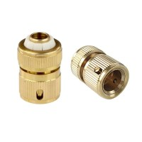 1/2 Inch Copper Hose Quick Connector Garden Water Pipe